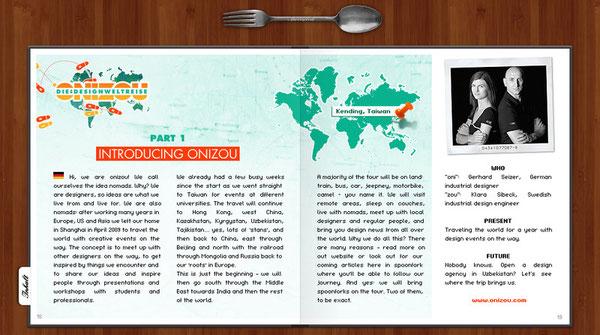 onizou idea nomads - spoonfork - gerhard seizer & klara sibeck