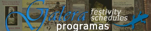 galera programas_festivity schedules