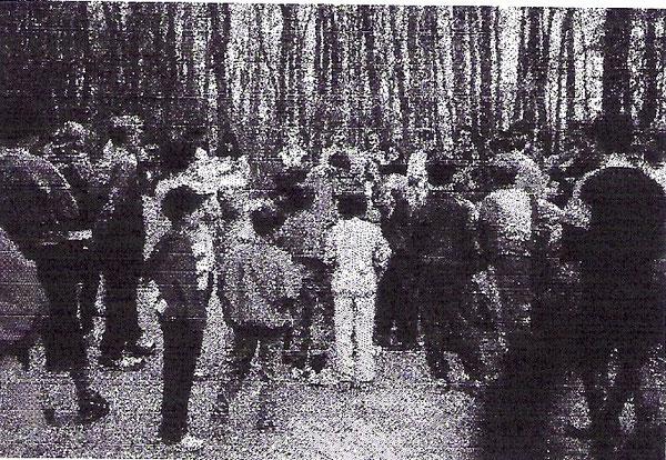 Erster Lauftreff am 16. April 1987 im Kammerwald