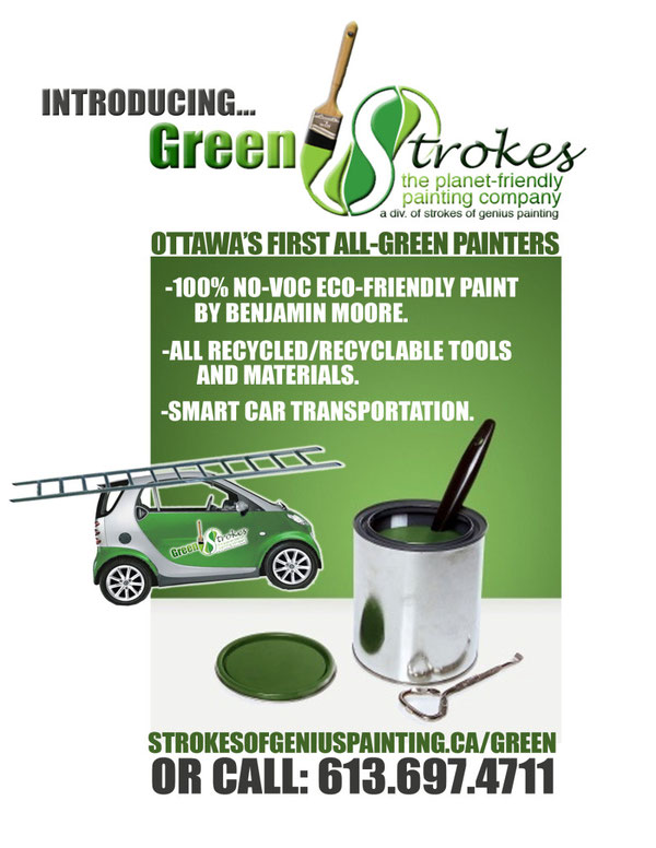 GREEN - Strokes of Genius Painting: Best Ottawa Professional
