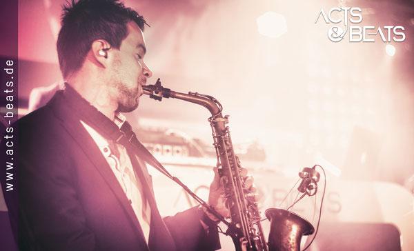 DJ Mit Saxophon NRW für Firmenfeier Messe Event
