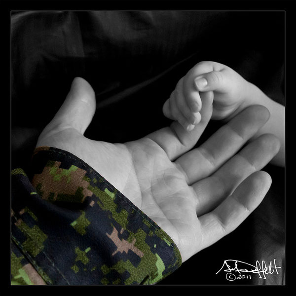 "A soldier is many things to many people, but to only one is he known as ""Daddy"". And for Daddy it is the first reason why he wears the uniform."