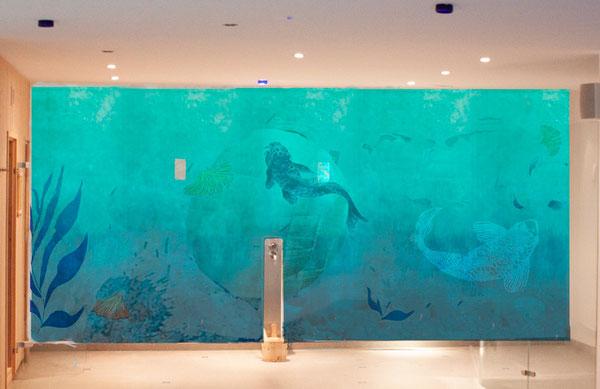 Wandbild Aquarium - Unterwasserlandschaft