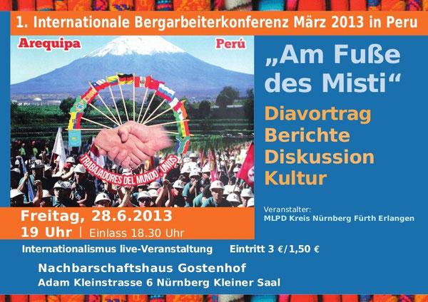 Diavortrag Berichte Diskussion Kultur