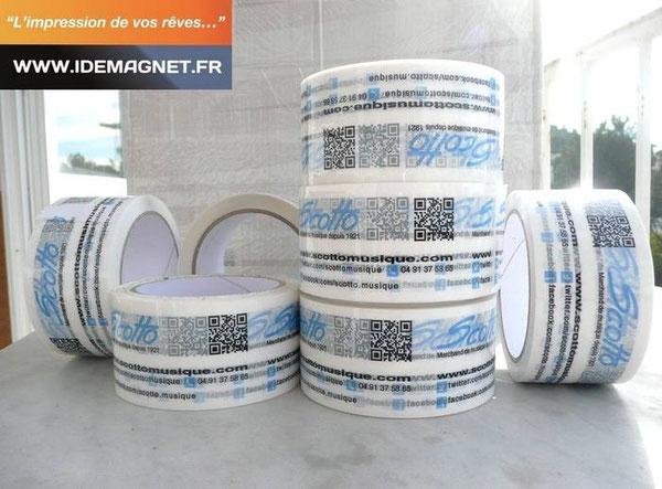 Rubans adhésifs PVC