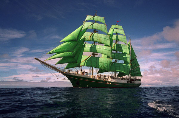 """Segelschiff """"Alexander von Humboldt"""""""