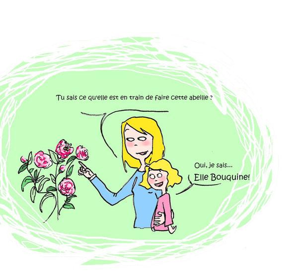 « Une abeille vaut mieux que mille mouches. » de Proverbe français