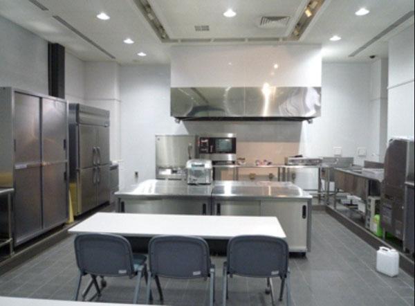 厨房 内装 テストキッチン 飲食店 三栄コーポレーションリミテッド