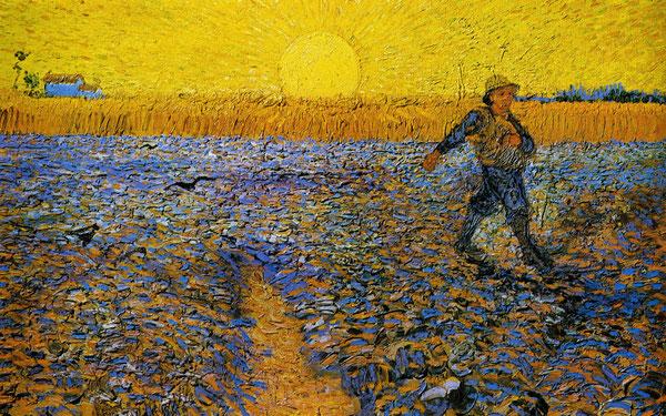 Bild Der Sämann, Van Gogh 1888