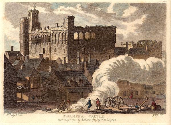 Swansea Castle Pub. 1786