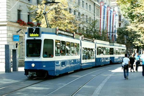 """Be 4/8 Tram 2000 """"Sänfte"""""""