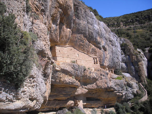 Ermitage en montant à Santa Orosia