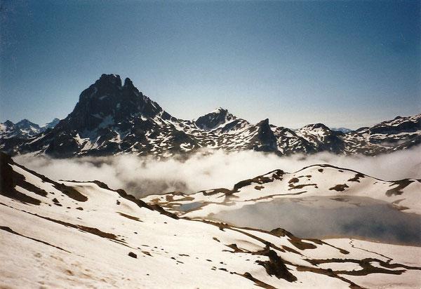 Le lac d'Ayous, vu du pic d'Ayous
