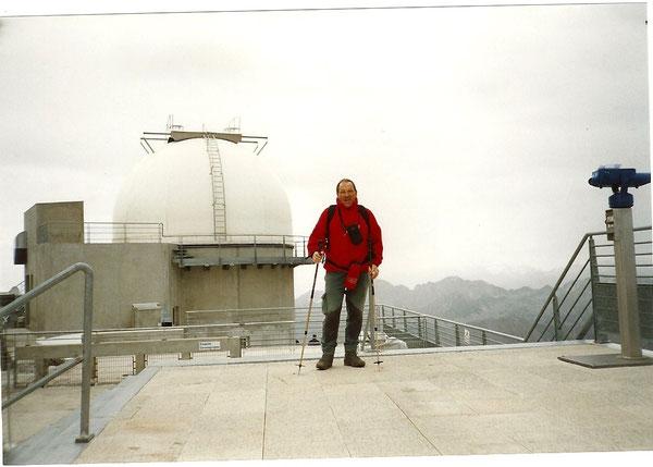 Georges, sur la terrasse de l'observatoire du pic du Midi de Bigorre