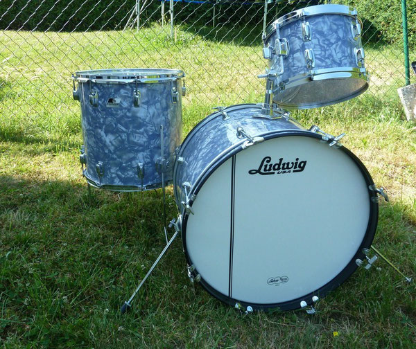 "Ludwig Rocker rewrapped 22"" 12"" 16"""