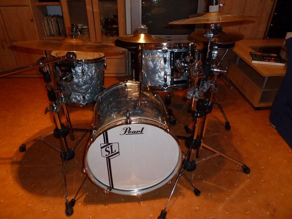 "Pearl EX Jungle Set 18"" 10"" 13"" in Charcoal"