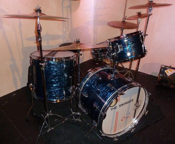 """Sonor Swinger 70er Jahre  20"""" 12"""" 16"""" in blau geschiefert"""