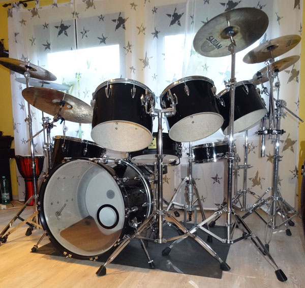"Phil Collins Replica - Tama Imperialstar 22""10""12""13""14""16"""