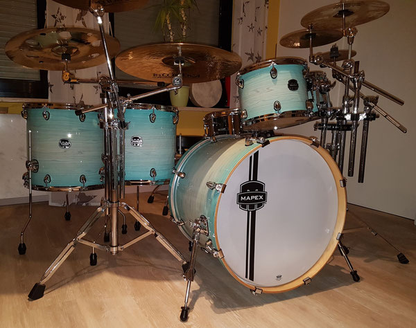 """Mapex Armory 22""""10""""12""""14""""16"""" in Ultra Marine"""