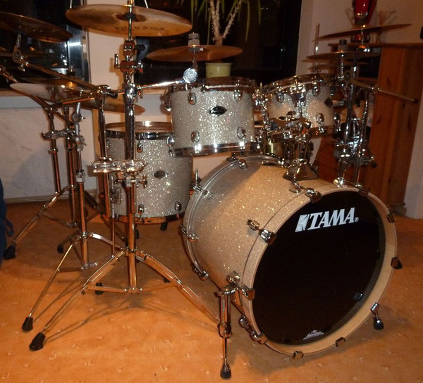 "TAMA Starclassic Performer B/B 22"" 10"" 12"" 16"" in Diamond Dust"