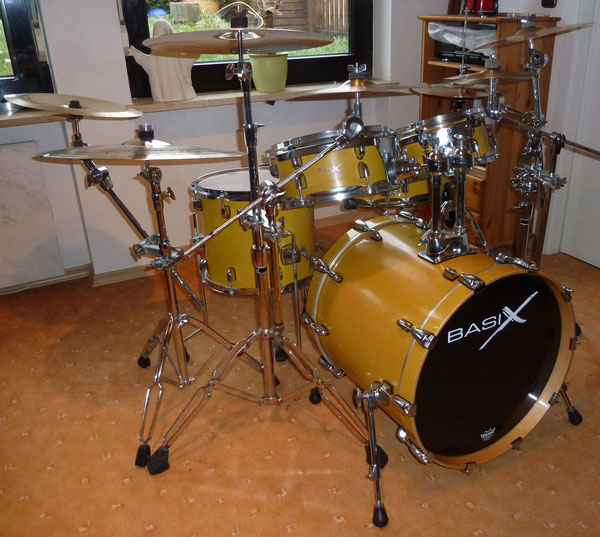 "Basix Bumblebee Short Stack 20""10""12""14"" & 14"" Snare - Nick-Set :-)"
