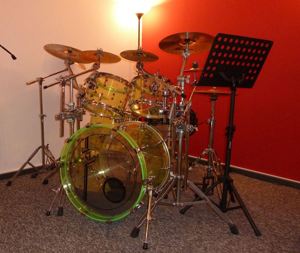 """Fame Acryl 22"""" 10"""" 12"""" 16"""" & 14"""" Snare"""