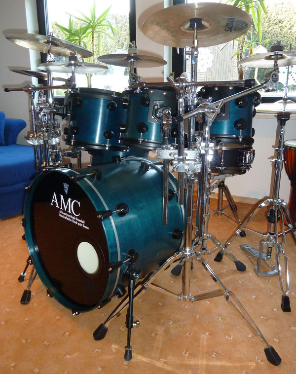 "AMC Maple Custom by Marco Deinl 22"" 8"" 10"" 12"" 14"""