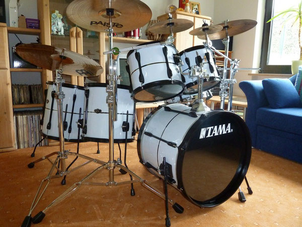 "Tama Rockstar  20"" 10"" 12"" 14"" 16"" Customized"