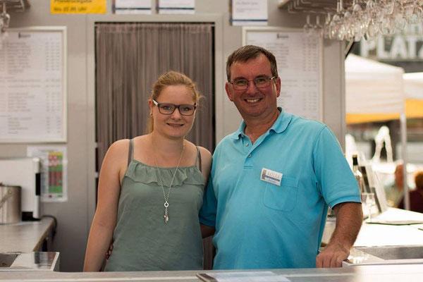 Svenja Kölle und Heinz Kölle
