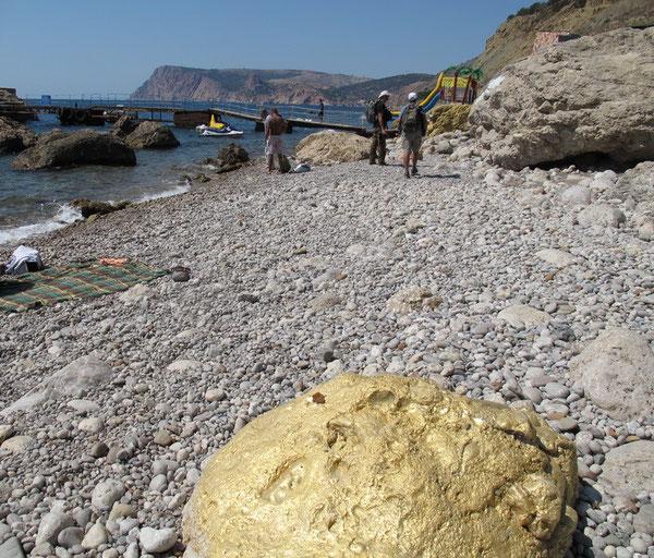 Золотой пляж, Балаклава