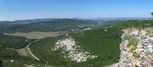 Вид с Шулдана на Шульскую долину