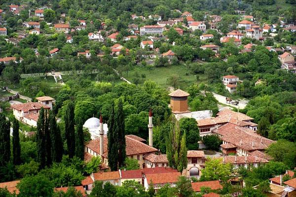 Бахчисарай. Вид на Старый город