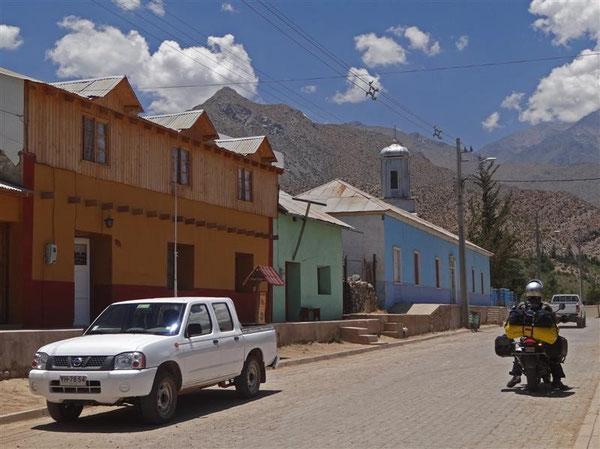 Der kleine Ort Hurtado