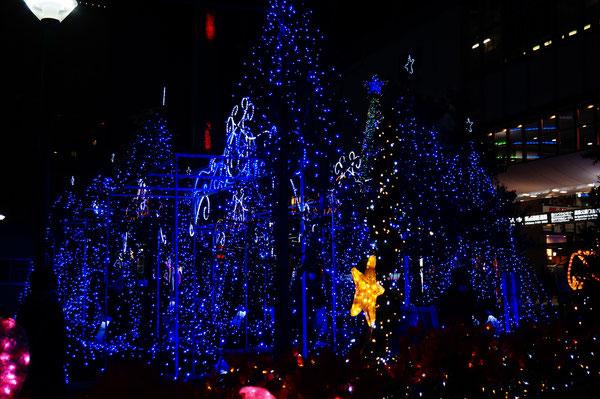 これらの写真は岡山駅東口で撮影したものです。