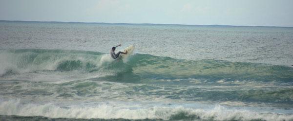maria's beach, surfing