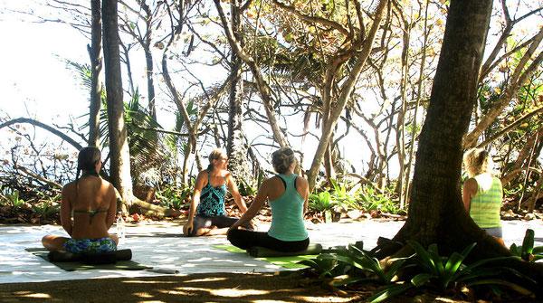 Barefoot Yoga in Rincon, Puerto Rico