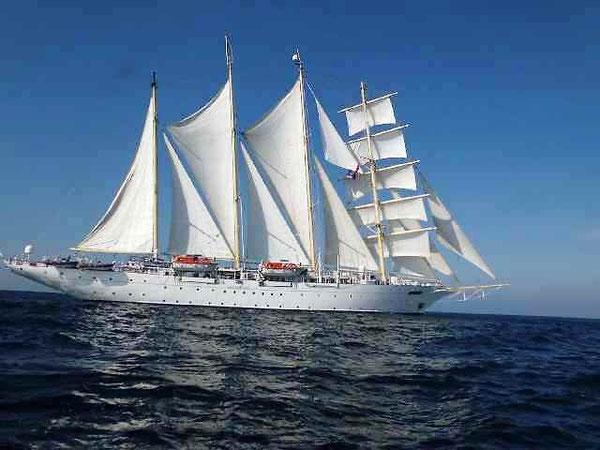 地中海から大西洋へ航海