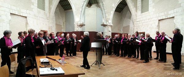 Chorale du Club à la galette de La Rochelle le 20-01-2015
