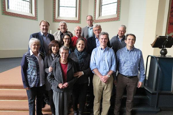 Teilnehmerinnen und Teilnehmer der Jahreshauptversammlung