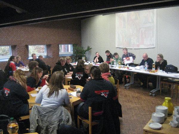 Der Vorstand des CVJM-Landesverband Hannover - vor der Wahl