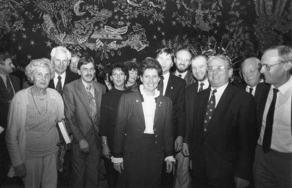Die Wolfsburger Delegation von CVJM und Diakonie