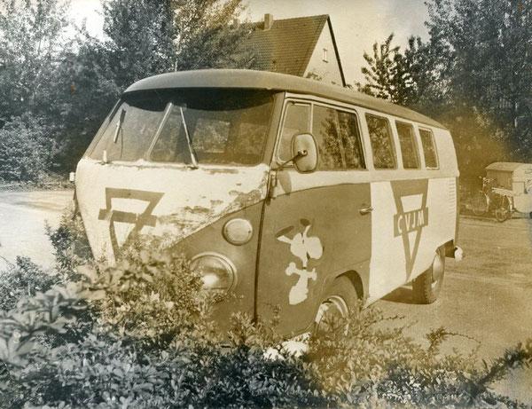 Unser erster VW-Vereinsbulli 1973