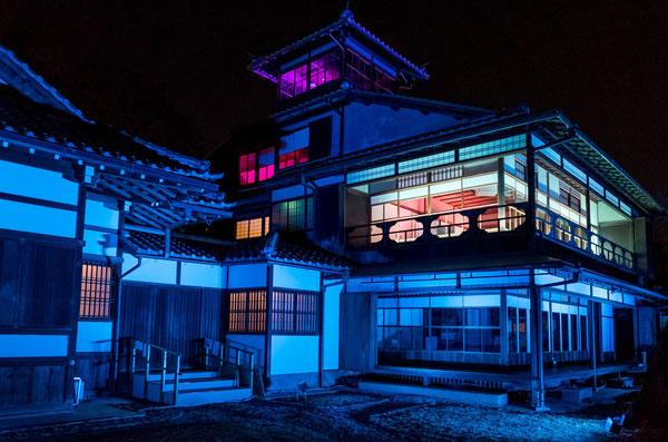 旧三井家下鴨別邸ライトアップ2017