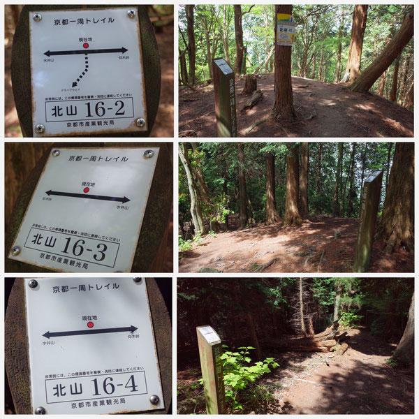 京都一周トレイル 北山東部コース 「北山16-2」