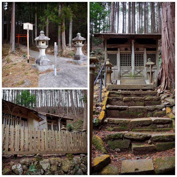 【京都トレイル北山西部コース】氷室神社