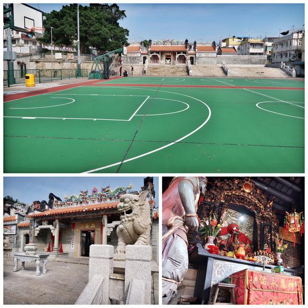 香港 長州島 廟