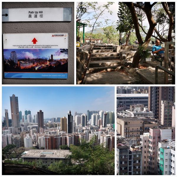 深水埗Sham Shui Poの丘 香港の眺め