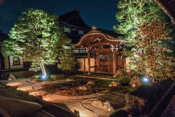 京都・本法寺ライトアップ
