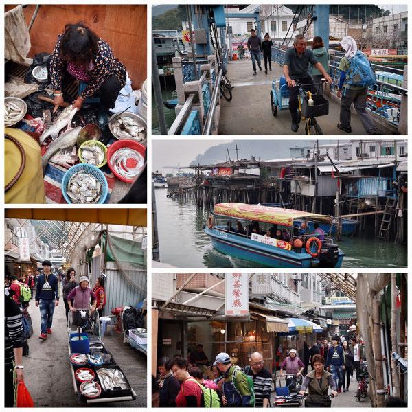 香港漁業の町「大澳(タイオウ)」