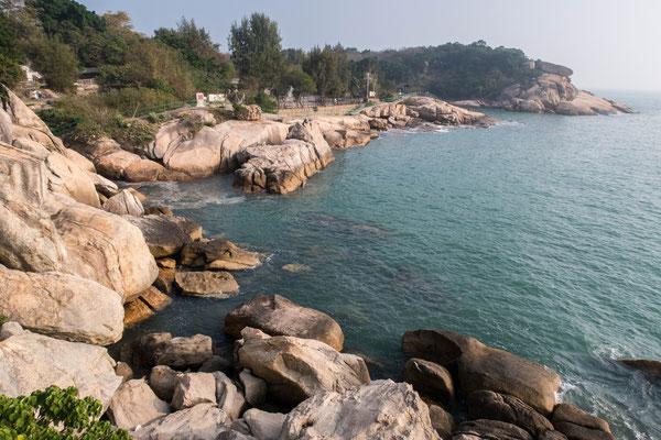 香港 長州島「張保仔洞」付近
